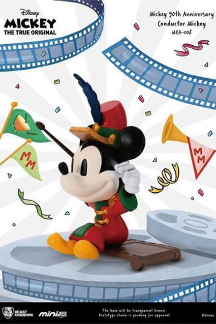 Mickey Mouse 90th Anniversary Mini Egg Attack Figure Conductor Mickey 9 cm