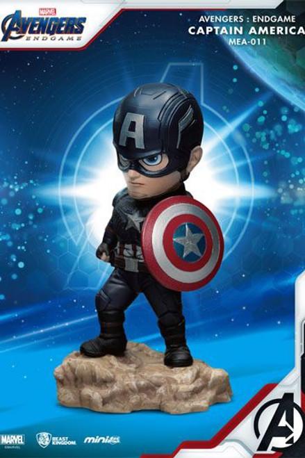 Avengers: Endgame Mini Egg Attack Figure  Captain America 7 cm