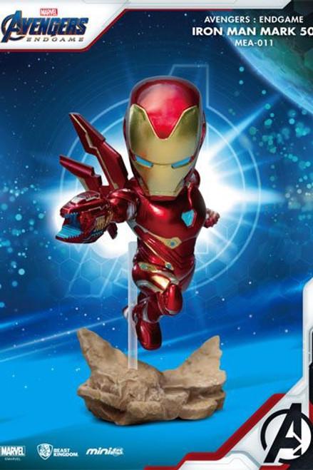 Avengers: Endgame Mini Egg Attack Figure Iron Man MK50 10 cm
