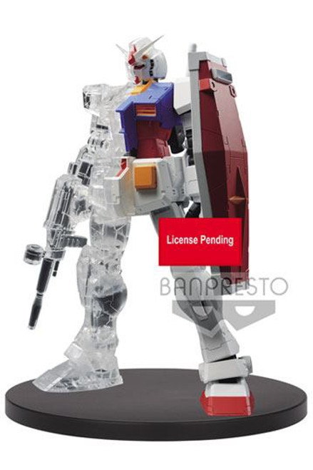 Mobile Suit Gundam Statue Internal Structure RX-78-2 Gundam Weapon Ver. A 14 cm
