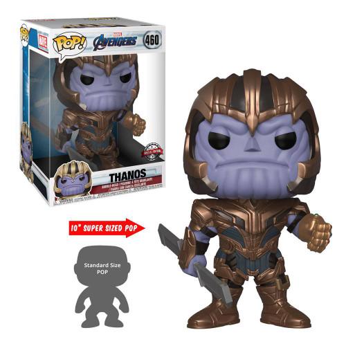 Avengers Endgame Super Sized POP! Movies Vinyl Figure Thanos 25 cm