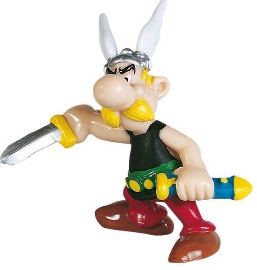 Asterix: Asterix Holding Sword 6 cm Miniature