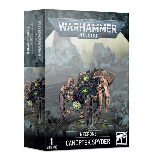 Necrons: Canoptek Spyder