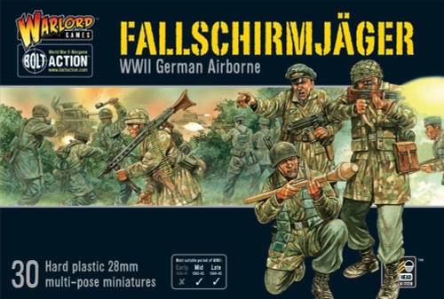 Bolt Action: Fallschirmjager (German Paratroopers)