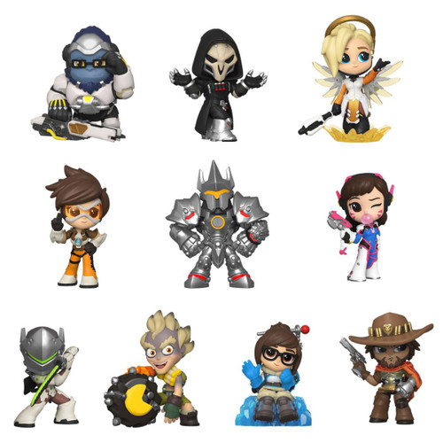 Funko: Overwatch Mini Vinyl Figures 6 cm
