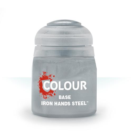Citadel Colour: Base: Iron Hands Steel (12ml)