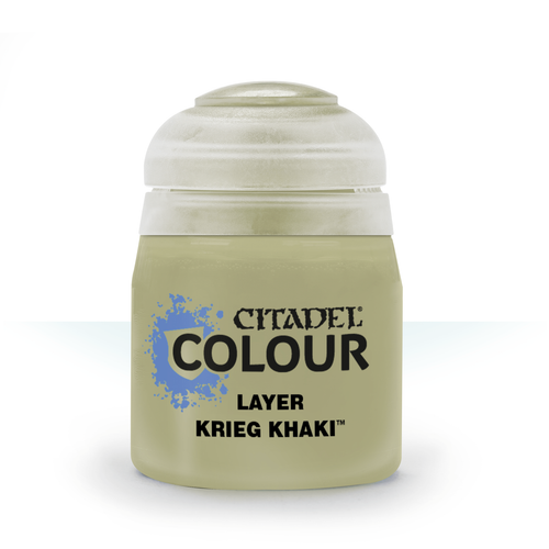 Citadel Colour: Layer: Krieg Khaki (12ml)