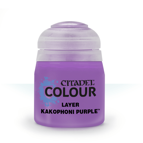 Citadel Colour: Layer: Kakophoni Purple