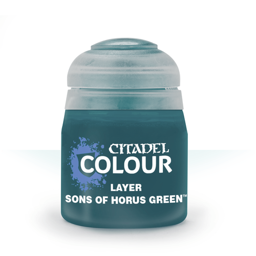 Citadel Colour: Layer:Sons Of Horus Green (12ml)