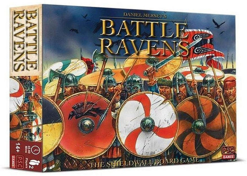 Strategy Game Battle Ravens – The Shieldwall Boardgame