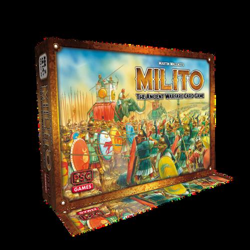MILITO ANCIENT WARFARE CARD GAME