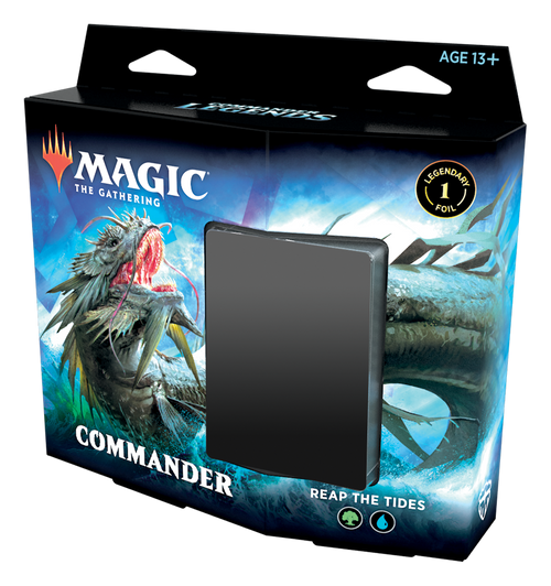 Commander Legends: Reap The Tides- Blue/Green Deck
