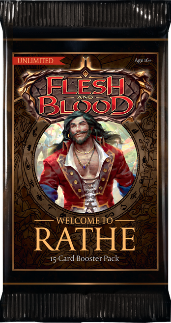 Flesh And Blood TCG: Welcome to Rathe Unlimited Booster Pack