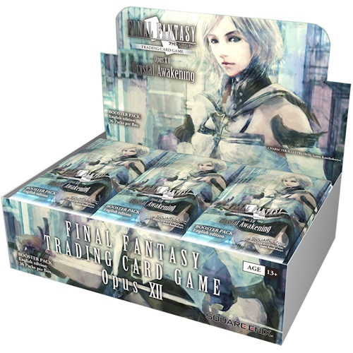 Crystal Awakening: Final Fantasy TCG: Opus XII (12) Boosters (Sealed Box of 36)