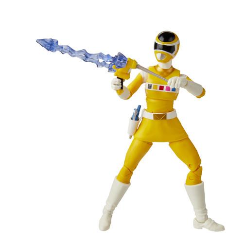 "Power Rangers Lightning Coll 6"" In Space Yellow Ranger"