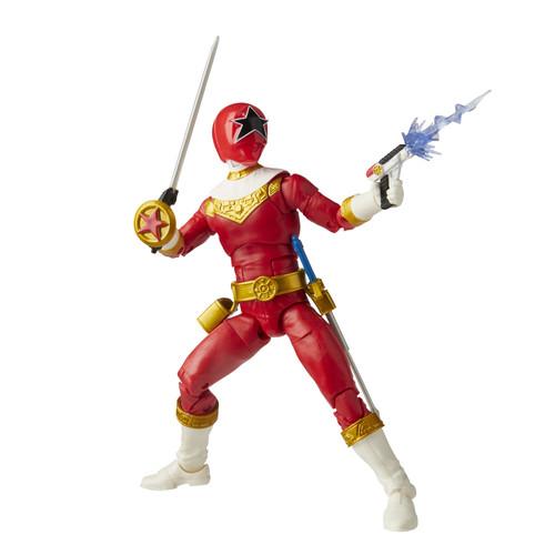 """Power Rangers Lightning Coll 6"""" Zeo Red Ranger Action Figure"""