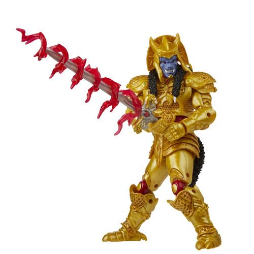 "Power Rangers Lightning Coll 6"" Mighty Morphin Goldar"