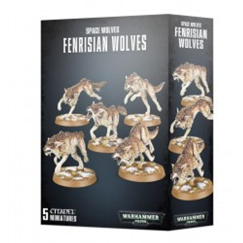 Space Wolves Fenrisian Wolves.