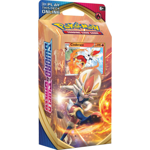Pokemon TCG: Sword & Shield Cinderace Theme Deck
