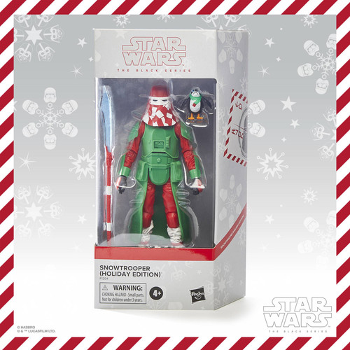 Star Wars The Black Series Snowtrooper (Holiday Edition) Action Figure
