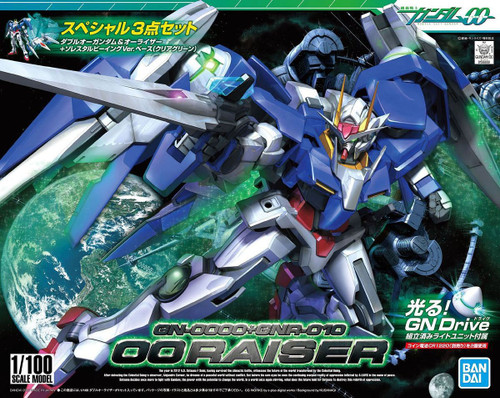 1/100 GN-0000 + GNR-010 00 RAISER SPECIAL SET