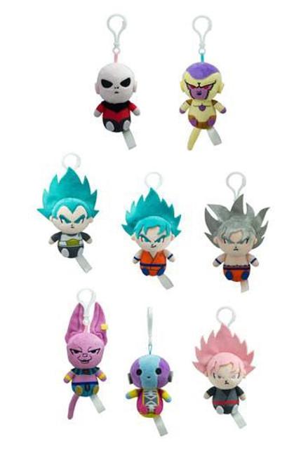 Dragon Ball Super Plush Hangers 8 cm