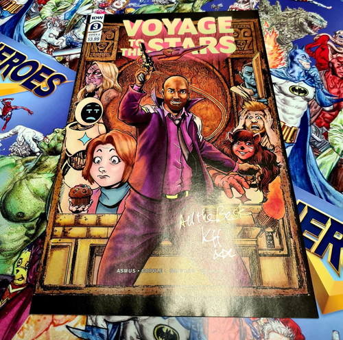 Voyage To The Stars #3 - Signed By Karen Holloway