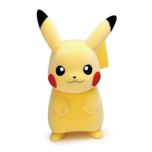 Pokemon: Flocking Doll Pikachu