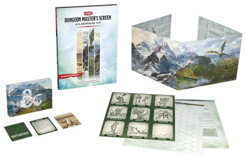 Dungeons & Dragons: Dungeon Master's Screen Wilderness Kit