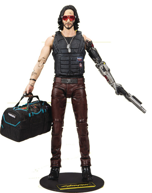 "Cyberpunk 2077 - Johnny Silverhand 7"" Aaction Figure"
