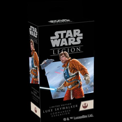Star Wars Legion: Luke Skywalker Commander Expansion Limited Edition