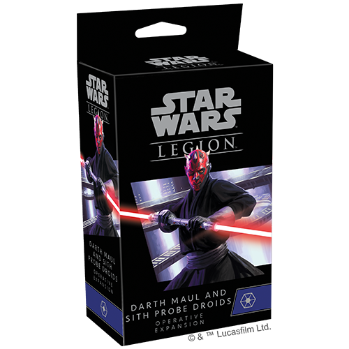 Star Wars Legion: Darth Maul and Sith Probe Droids Expansion