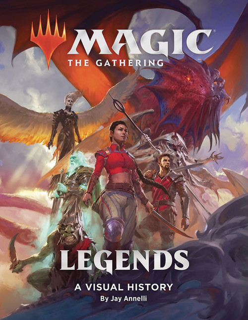 Magic The Gathering Legends Visual History HC