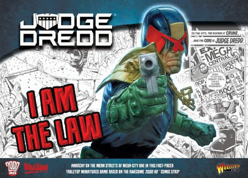 Judge Dredd Tabletop Game - Starter Set