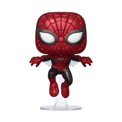 Funko POP! Vinyl: Marvel: 80th - First Appearance Spider-Man (Metallic) #593