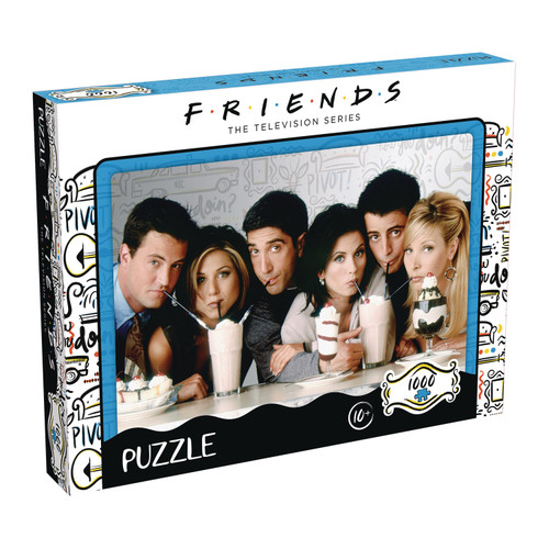 Friends Milkshake 1000Pc Puzzle