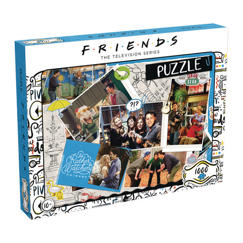 Friends Scrapbook 1000Pc Puzzle