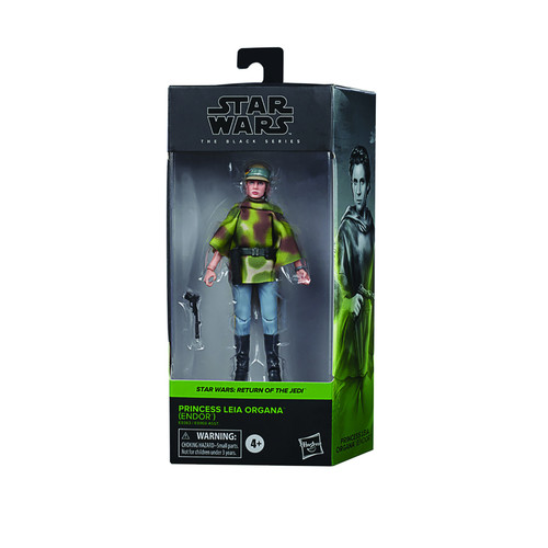 "Star Wars Black Series 6"" Leia Organa Action Figure"