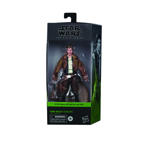 "Star Wars Black Series 6""  Han Solo Action Figure"