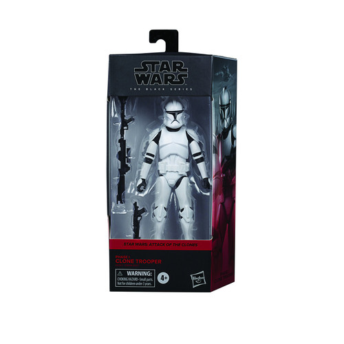 Star Wars The Black Series Phase 1 Clone Trooper Action Figure
