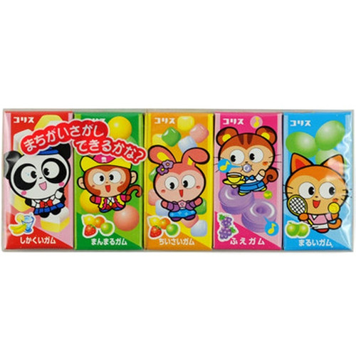 'KORIS' Gum Gum5 Assorted Chewing Gum, 38g