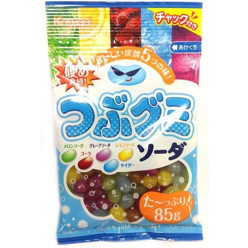 'KASUGAI SEIKA' Tsubu Gummy Soda, 85g