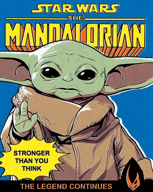 Star Wars: The Mandalorian (Stronger Than You Think)  Canvas Print