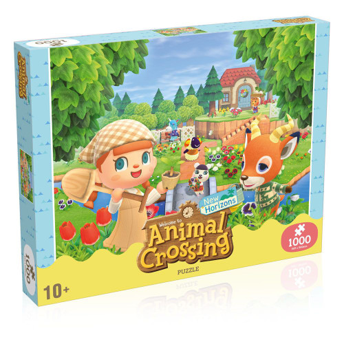Animal Crossing New Horizons Jigsaw Puzzle Characters (1000 pieces)