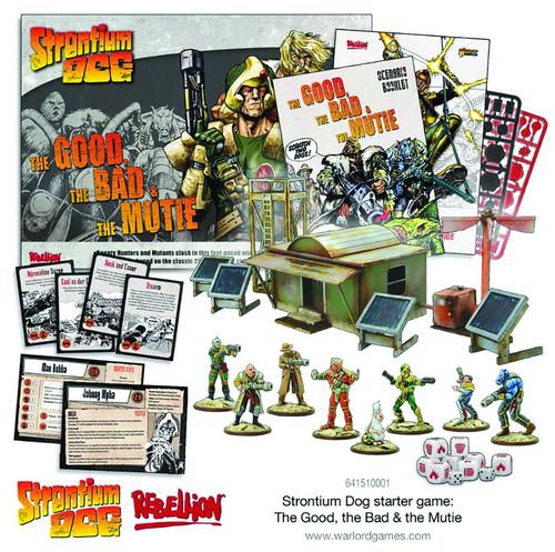 Strontium Dog Tabletop Game Starter