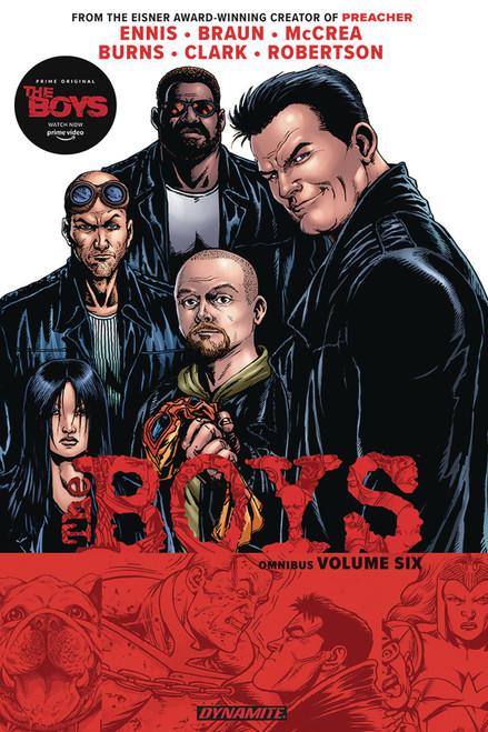 Boys Omnibus Graphic Novel 6 (Mature Readers)
