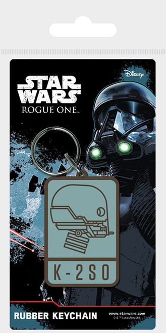 Star Wars - Rogue One K-2SO Rubber Keychain