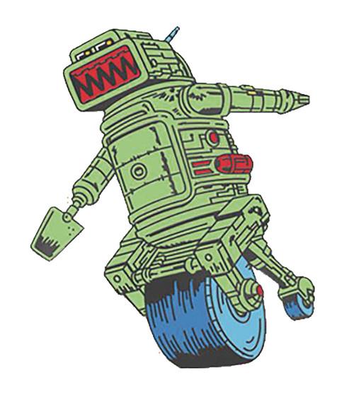 2000 Ad Judge Dredd Ro-Jaws Pin