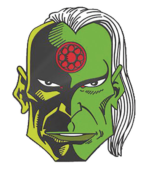 2000 Ad Judge Dredd Tharg The Mighty Pin