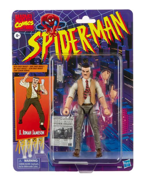 "Spider-Man Vintage J. Jonah Jameson 6"" Action Figure"